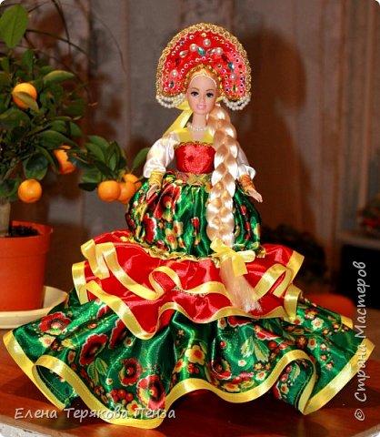 Куклы-шкатулки в русском-народном стиле фото 4