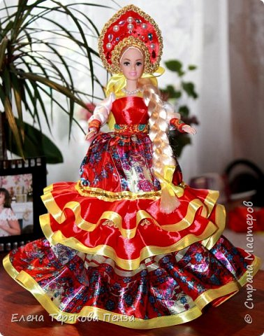 Куклы-шкатулки в русском-народном стиле фото 7