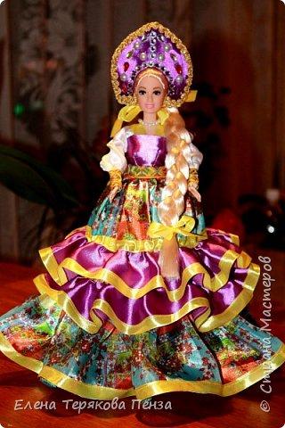 Куклы-шкатулки в русском-народном стиле фото 6