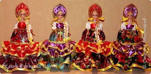 Куклы-шкатулки в русском-народном стиле фото 1