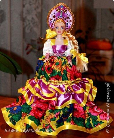 Куклы-шкатулки в русском-народном стиле фото 2
