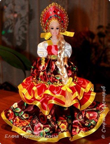 Куклы-шкатулки в русском-народном стиле фото 3
