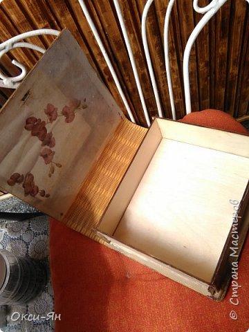Доброго дня Всем! Мечталось мне   сделать книгу-шкатулку.Абсолютно случайно нашла и купила две такие заготовки. фото 6