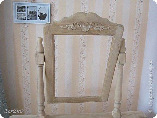 Здравствуй страна, дошли руки наконец до мебели... Стол некрашеный стоял долго, не знала  на какой козе к нему подъехать... фото 2