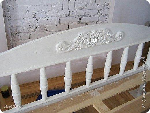 Вот мои вытворки с кроватью. В пару к столику получился гарнитур. фото 1