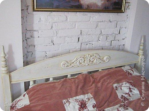 Вот мои вытворки с кроватью. В пару к столику получился гарнитур. фото 3
