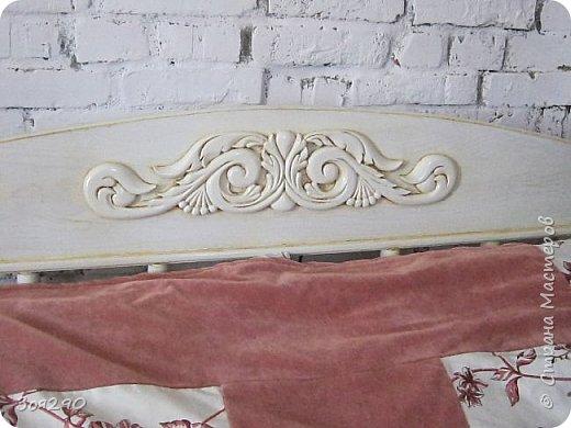 Вот мои вытворки с кроватью. В пару к столику получился гарнитур. фото 5