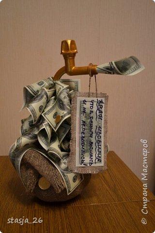 Одна из первых моих работ с денежными купюрами..  фото 1