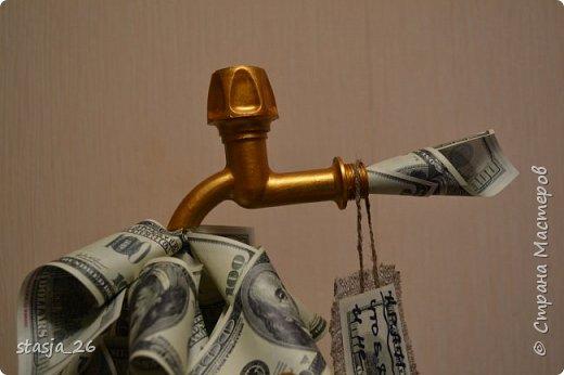 Одна из первых моих работ с денежными купюрами..  фото 2