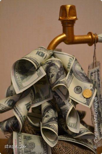 Одна из первых моих работ с денежными купюрами..  фото 3