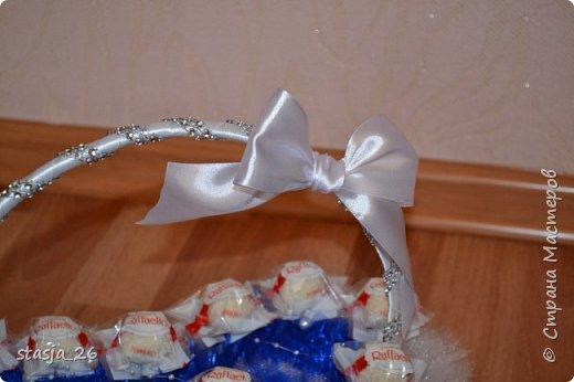 Эта корзинка была сделана на свадьбу. фото 3
