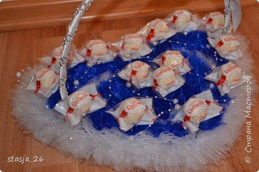 Эта корзинка была сделана на свадьбу. фото 4