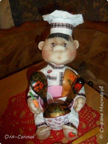 кукла подставка под столовые приборы фото 1