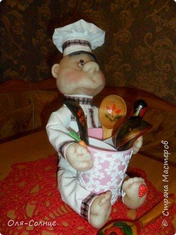кукла подставка под столовые приборы фото 3