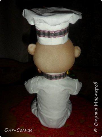 кукла подставка под столовые приборы фото 4