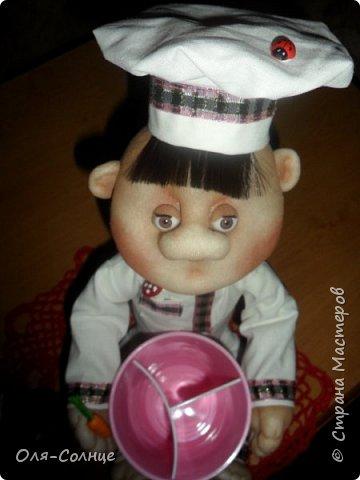 кукла подставка под столовые приборы фото 2