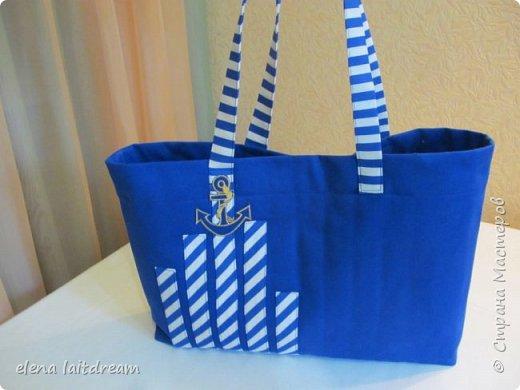 Пляжная сумка для морского променада