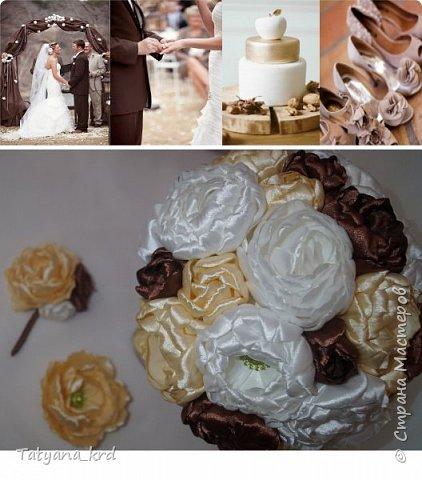 Шоколад – лакомство, которое любят все, за очень редкими исключениями. Цвет шоколада, особая культура украшения шоколадных кондитерских изделий, на формирование которой ушло не одно столетие, соблазняют сами по себе – в изысканной упаковке кроется одна из самых обожаемых сладостей. Свадебный набор в шоколадных тонах - вкусно, соблазнительно, изысканно. фото 2