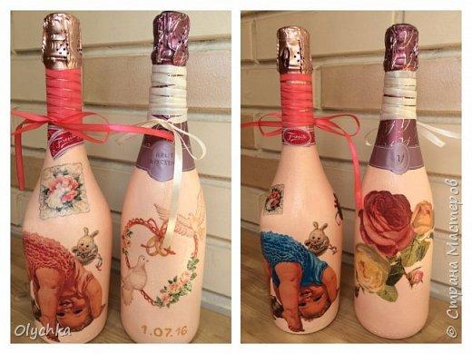 Свадебные бутылки фото 1