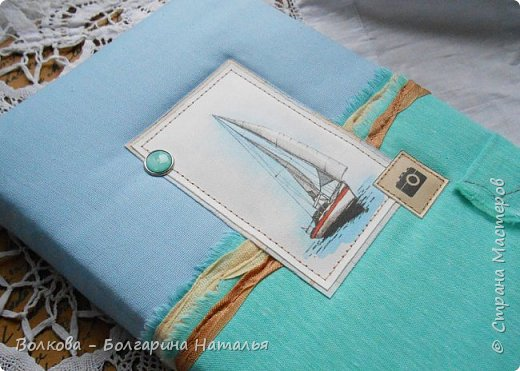 """Впервые в моей скрап-жизни я использую бумагу от Лены Виноградовой (картинка с листа коллекции """"Свежий ветер""""). Это просто удовольствие работать с таким материалом. фото 3"""