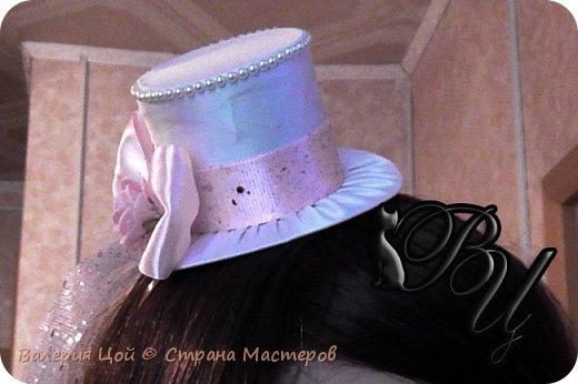 """Как-то попросили меня сделать ободок, для одной замечательной девочки. С пометкой """"что угодно, только не розочки"""". Вот что из этого получилось... фото 3"""
