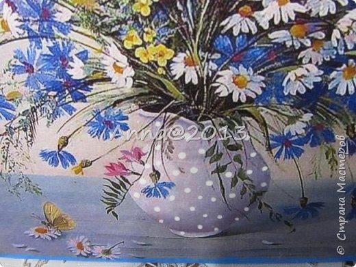 Добрый день, дорогие мастера и мастерицы !!! На календаре -лето, на термометре, к счастью , тоже, всё цветёт и благоухает, красота !!! Вот и в моих работах всё пронизано летним настроением- белоснежные ромашки, лесная земляника..., ух, какая же лепота !!! ))) Всем вам желаю провести это лето классно, а именно -отдохнуть душой и телом, запастись солнышком и витаминами до следующего ..., куда запланировали, обязательно съездить, ну, и вообще, пусть это лето будет насыщено самыми приятными событиями и эмоциями !!! А теперь смотрим... фото 5