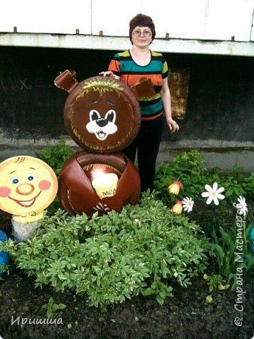 Встреча колобка с медведем! фото 1