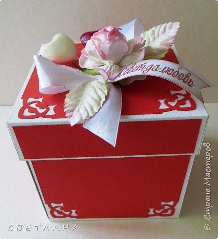 Подарочная коробочка серебряно-зеркальная... фото 3