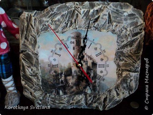 Замок. Камень. Часы. Работа по МК Галины Вакула. фото 6