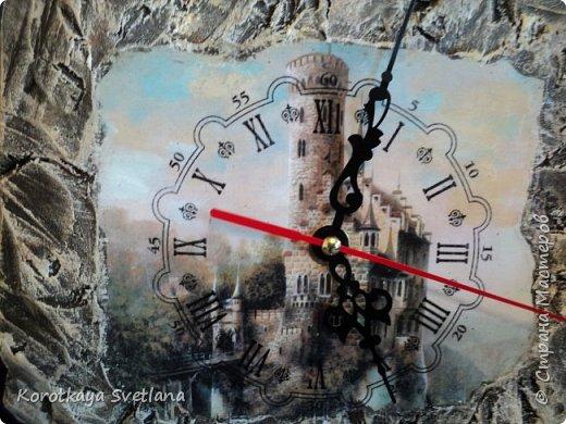 Замок. Камень. Часы. Работа по МК Галины Вакула. фото 4