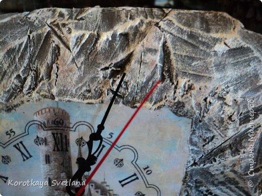 Замок. Камень. Часы. Работа по МК Галины Вакула. фото 3