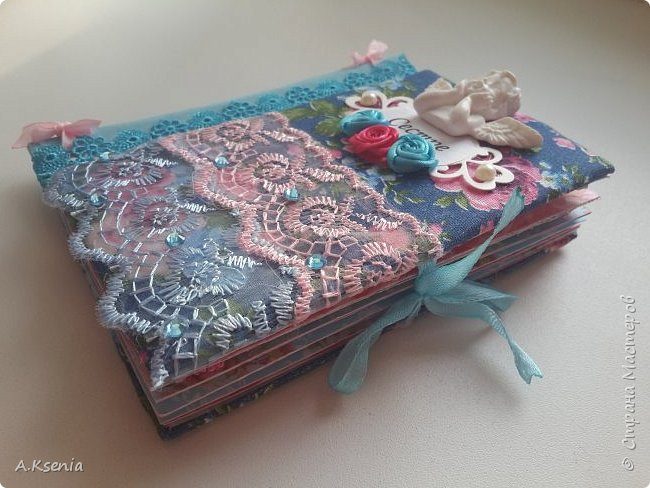 Вот такой карманый фотобук соорудила в подарок своей любимой сестренке! фото 2