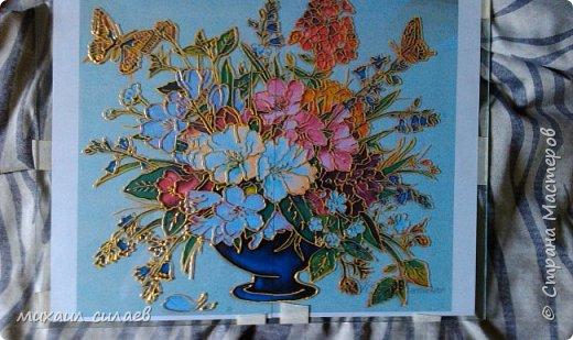 Ваза с цветами фото 7