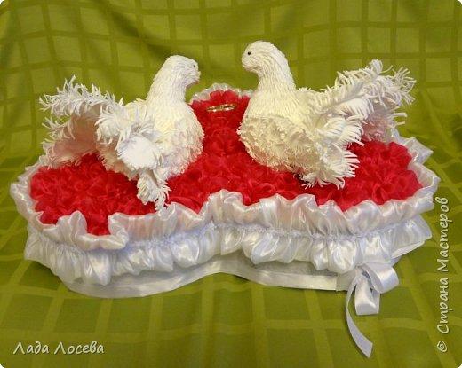 Свадебная казна с голубями фото 3
