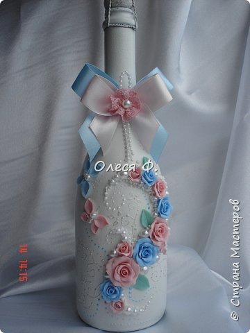 Свадебный комплект для подруги моей дочери. Вот такие нежные  оттенки  выбраны для свадьбы.  фото 2