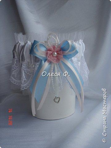 Свадебный комплект для подруги моей дочери. Вот такие нежные  оттенки  выбраны для свадьбы.  фото 8