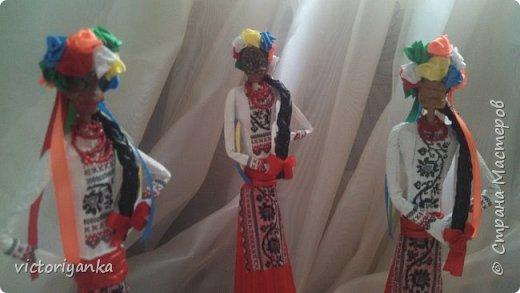 Привет всем жителям Страны Мастеров! После африканок пошли украинки! фото 3