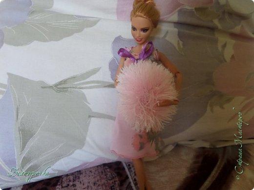 привет!сегодняшний блог начался с того, что Эвелина пришла ко мне в своей новой ночнушке и с какой-то пушистой штукой и заявила: -Я хочу на улицу! фото 1