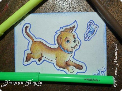 Приветик) Нарисовала три небольших рисуночка на одну тему. фото 3