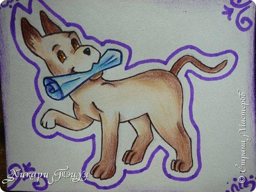 Приветик) Нарисовала три небольших рисуночка на одну тему. фото 6