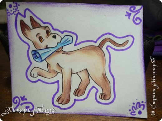 Приветик) Нарисовала три небольших рисуночка на одну тему. фото 7
