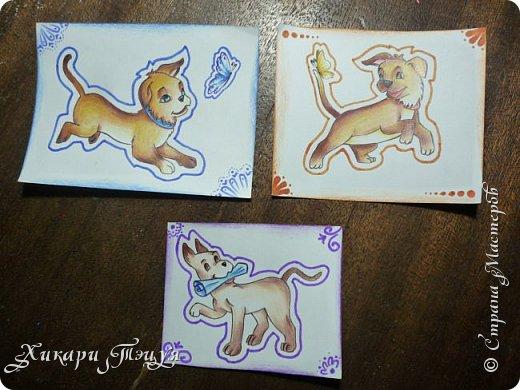 Приветик) Нарисовала три небольших рисуночка на одну тему. фото 8