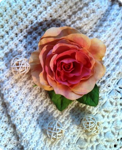 Здравствуйте, девочки!!! Сегодня у меня цветочки для заколочек и резиночек. фото 4