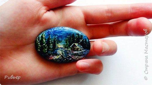 Роспись на камнях фото 1
