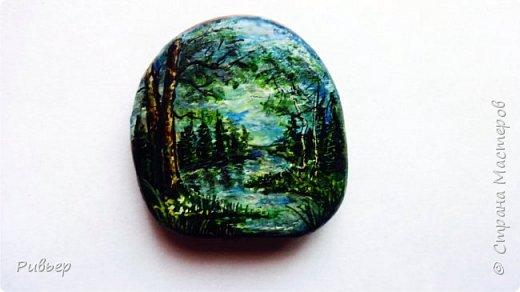 Роспись на камнях фото 3