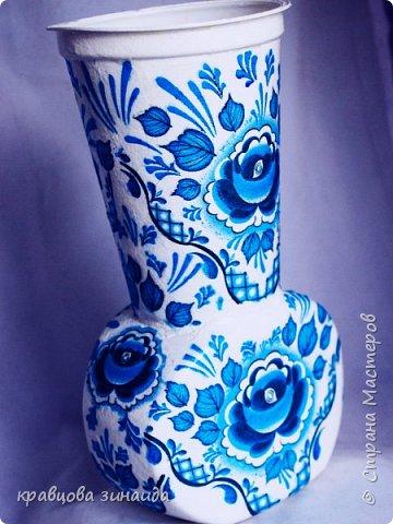 ДОБРЫЙ ВСЕМ ВЕЧЕР! Сегодня  я  к вам  со своими любимыми вазочками , первая с маками фото 6