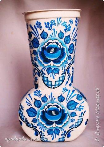 ДОБРЫЙ ВСЕМ ВЕЧЕР! Сегодня  я  к вам  со своими любимыми вазочками , первая с маками фото 8