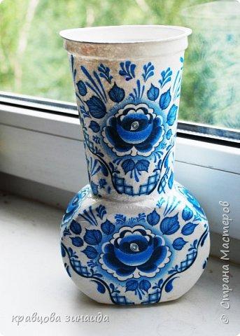 ДОБРЫЙ ВСЕМ ВЕЧЕР! Сегодня  я  к вам  со своими любимыми вазочками , первая с маками фото 7