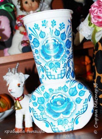 ДОБРЫЙ ВСЕМ ВЕЧЕР! Сегодня  я  к вам  со своими любимыми вазочками , первая с маками фото 9