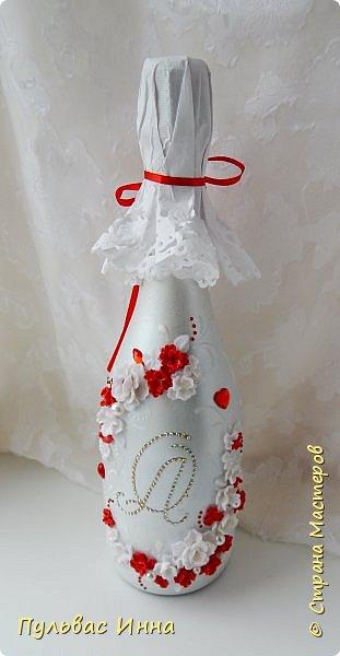 Очередной наборчик))))очень скромненький, выполнен в красно-белом цвете... фото 8